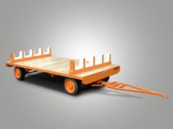 Sonderkonstruktion zur Aufnahme von Walzen mit Vierrad-Achsschenkellenkung